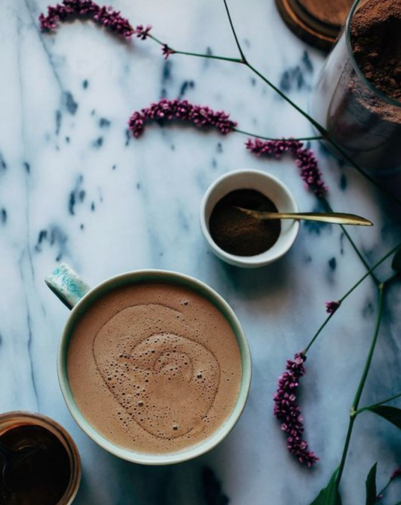 healthy cup of cacao